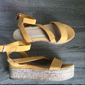 BAMBOO Cork Flatform Sandal